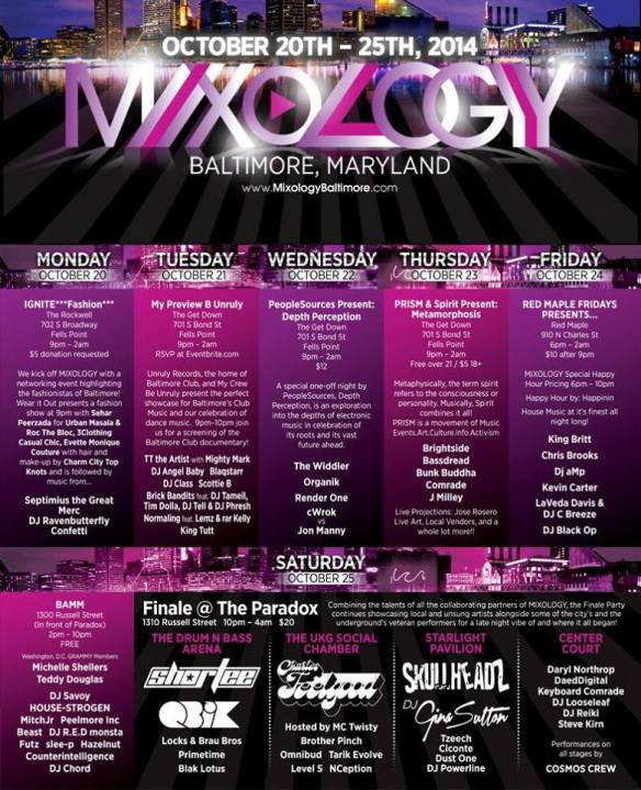 Mixology: B'more Arts Music & More, Russell Street Outside the Paradox, Baltimore