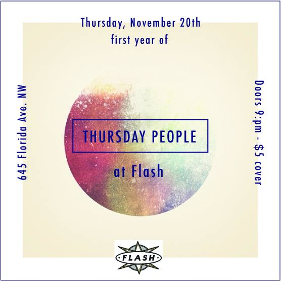 Thursday People's First Year at Flash