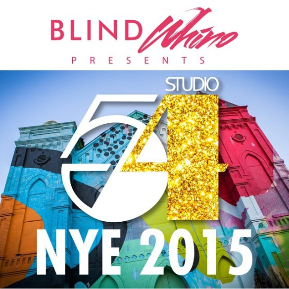 #Studio54DC New Years Eve Party at Blind Whino!