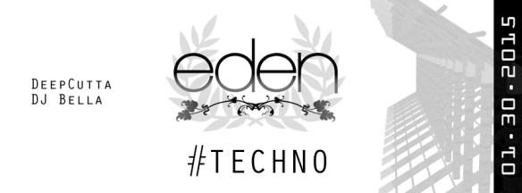 Eden Underground with DeepCutta & DJ Bella at Eden