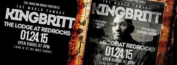 King Britt w/Adrian Loving at The Lodge at RedRocks
