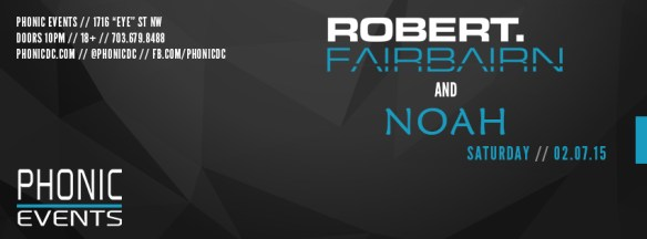 Robert Fairbairn and Noah at Phonic