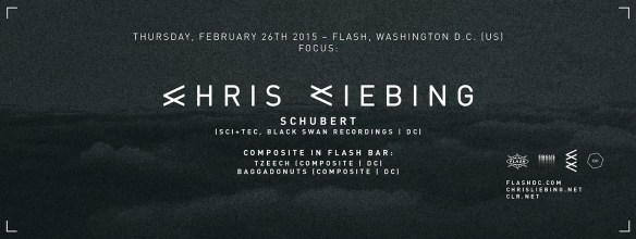 FOCUS: Chris Liebing & Schubert at Flash, with Composite in the Flash Bar