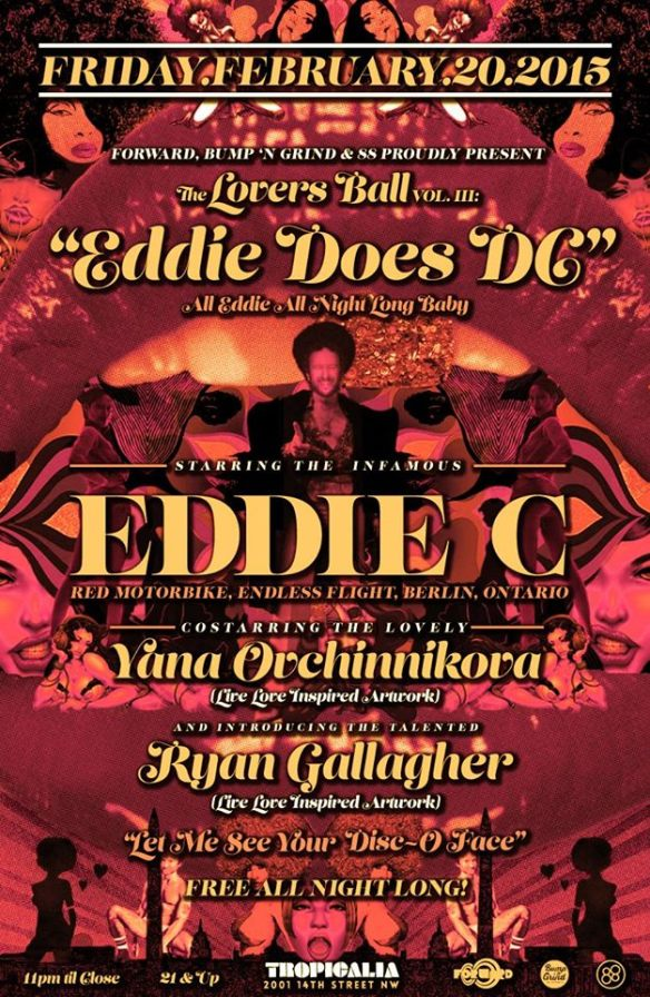 "The Lovers Ball Vol. III: ""Eddie Does DC"" w/ Eddie C at Zeba Bar"