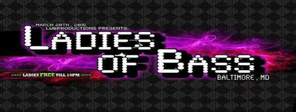 LWBProductions Presents Ladies of Bass at The Bambou Space, Baltimore
