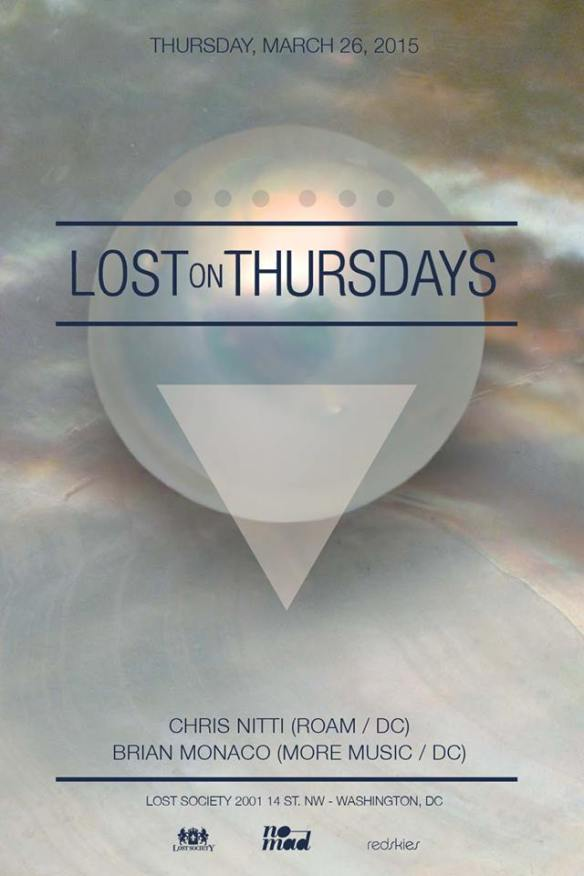 Lost Originals feat. Chris Nitti (Roam/DC) / Brian Monaco (More Music/DC) at Lost Society