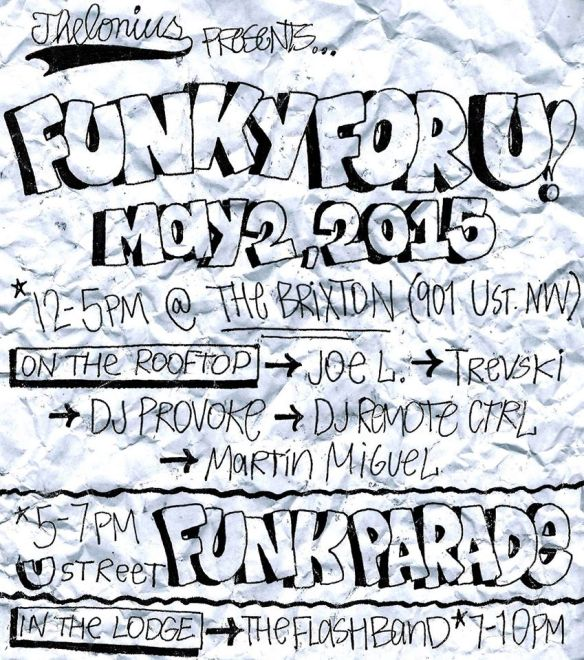 Funky For U: A Funk Parade Day Party at The Brixton