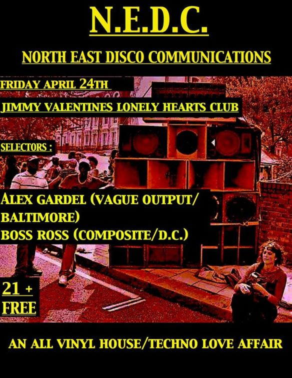 N.E.D.C. with Trev-Ski, Alex Gardel & Boss Ross at Jimmy Valentine's Lonely Hearts Club