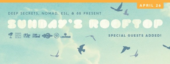 Sundays Rooftop Feat. Daniel Bell, Audio Werner, Voigtmann and R&B at ESL