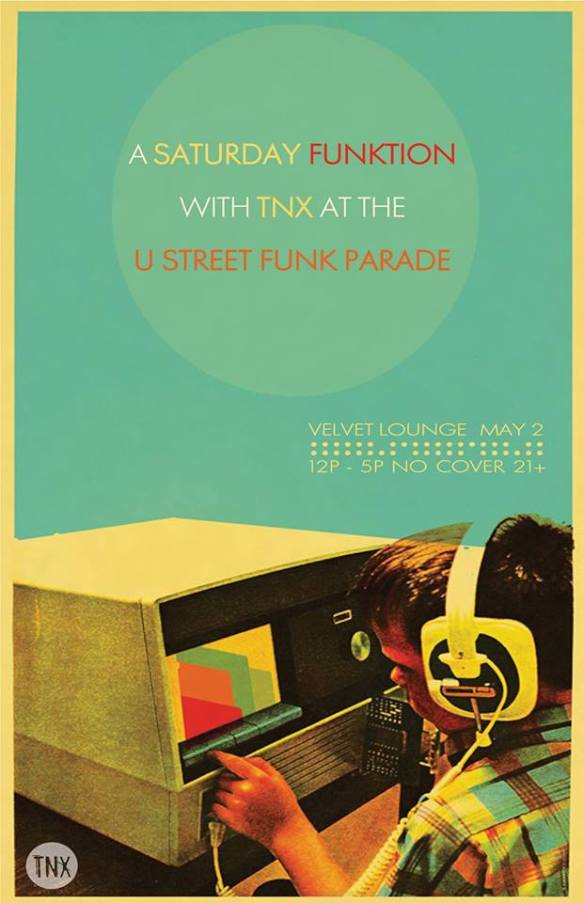 TNX at The U Street Funk Parade at Velvet Lounge