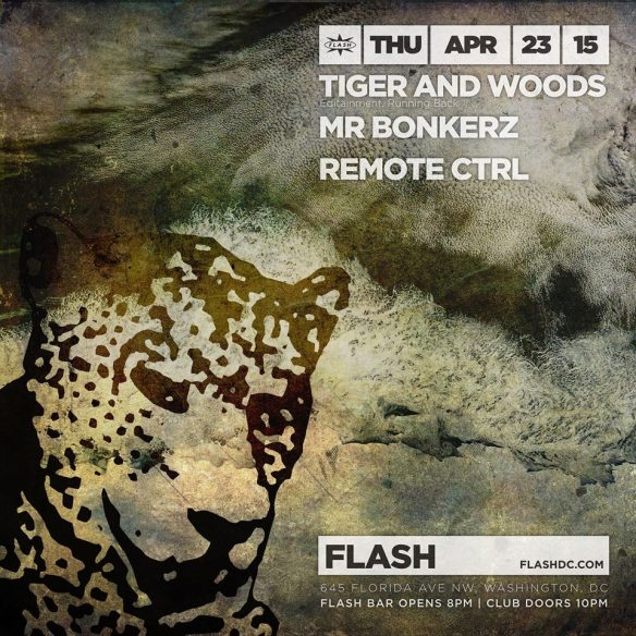Tiger and Woods, Mr Bonkerz, Remote Ctrl at Flash