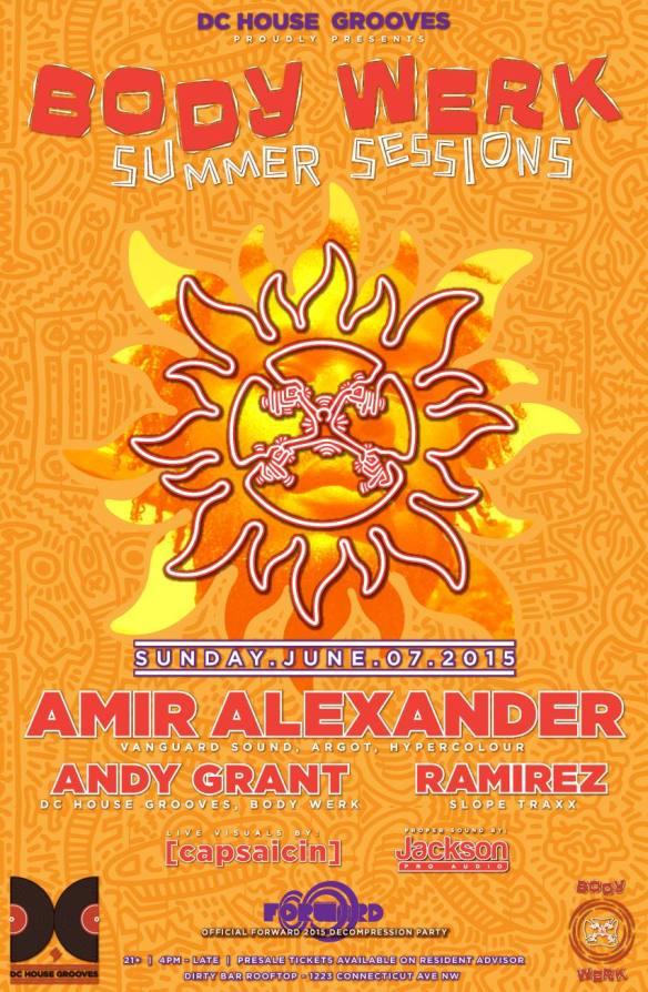 Body Werk Summer Sessions with Amir Alexander