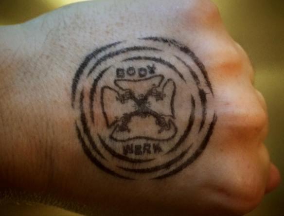 Body werk stamp
