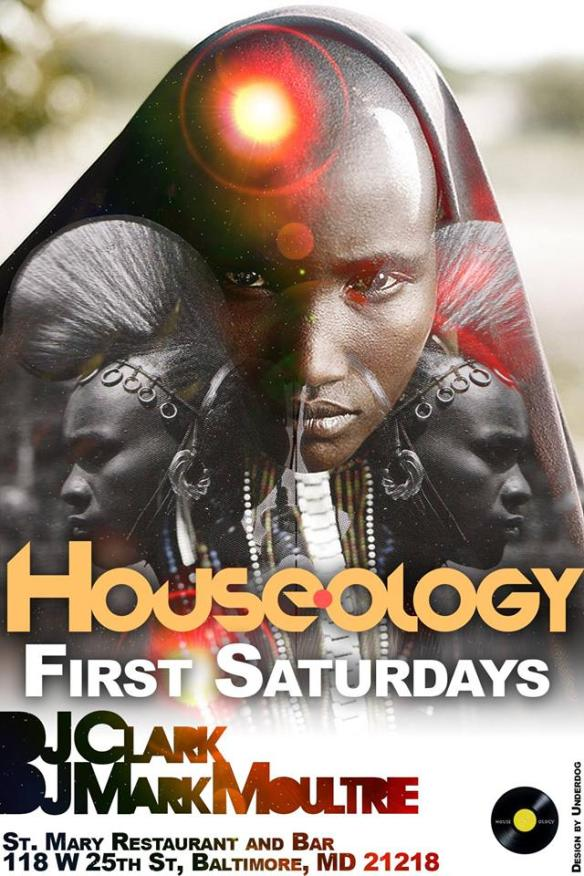 Houseology Anniversary withh DJ Clark and DJ Mark Moultrie at St. Marty's Restaurant & Lounge, Baltimore