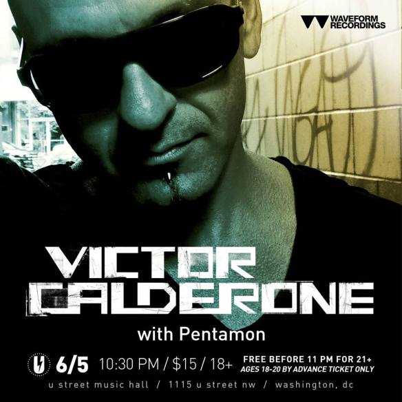 Victor Calderone with Pentamon at U Street Music Hall