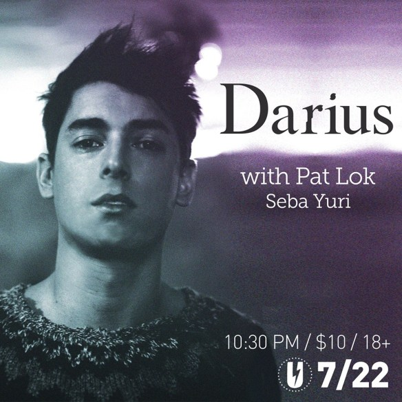 Darius with Pat Lok & Seba Yuri at U Street Music Hall