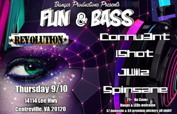 Fun & Bass at Revolution Centreville