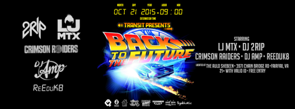 Transit goes Back to the Future at The Auld Shebeen, Fairfax