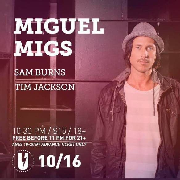 Miguel Migs with Sam Burns, Tim Jackson