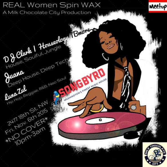 Real Women Spin Wax at Songbyrd