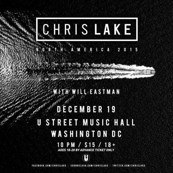 Chris Lake with Will Eastman at U Street Music Hall