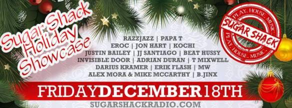 Sugar Shack Radio Holiday Showcase