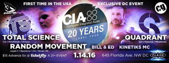 C.I.A. Records Tour at Flash