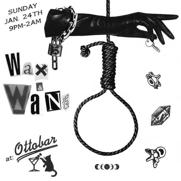 Wax & Wane II with Curse & Aphreaq at Ottobar, Baltimore