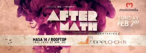 Aftermath Sundays featuring Sabeel Chohan at Masa 14