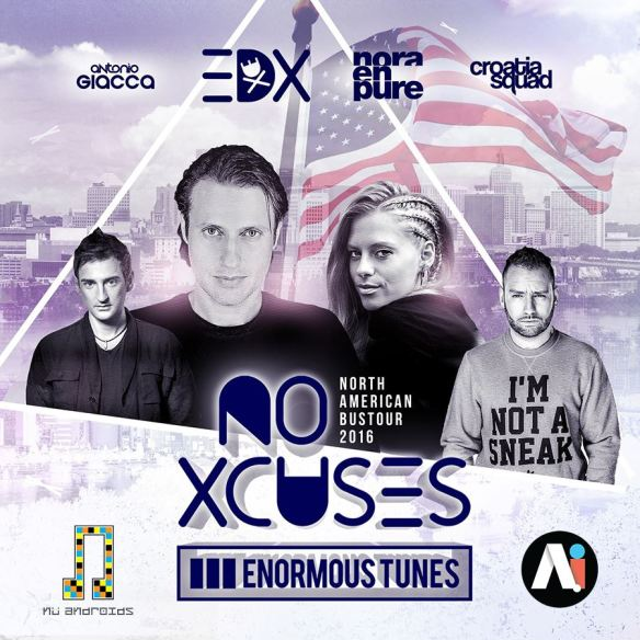 Nu Androids present: EDX, Nora en Pure, and MORE at a.i.