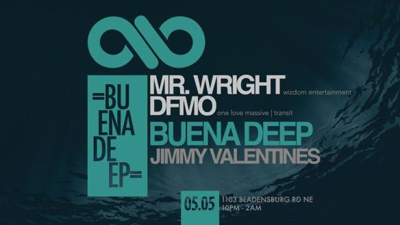 Buena Deep with Mr. Wright & DFMO at Jimmy Valentine's Lonely Hearts Club
