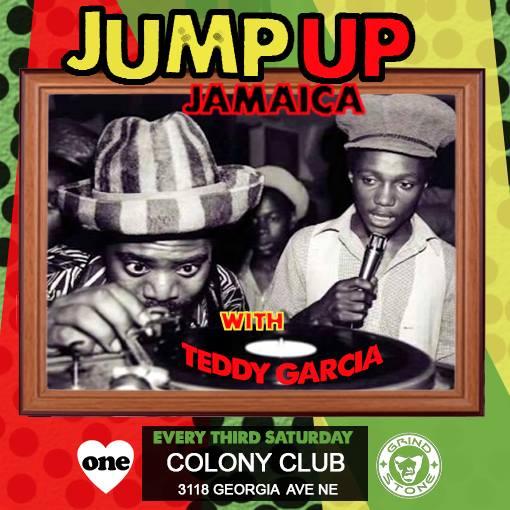 Jump Up Jamaica with Teddy Garcia at Colony Club