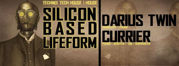 Silicon Based Lifeform with Darius Twin and Currier at Dr. Clock's Nowhere Bar