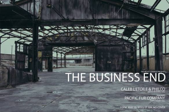 The Business End w. Caleb L'Etoile & Philco ft. Pacific Fur Company at The Velvet Lounge