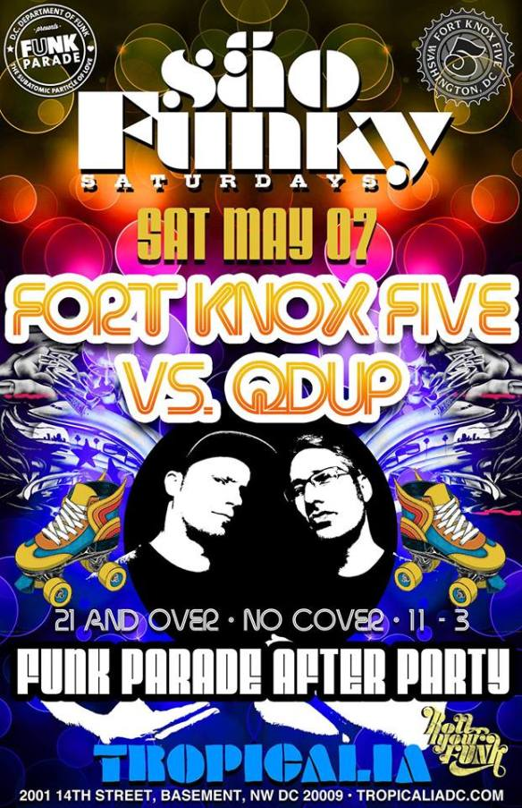 Sao Funky Afterparty with Fort Knox Five & Qdup at Tropicalia