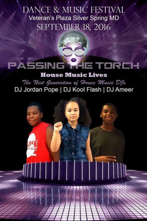 3rd Annual Dance & Music Festival with DJ Jordan Pope, DJ Kool Flash & DJ Ameer at Veteran's Plaza, Silver Spring