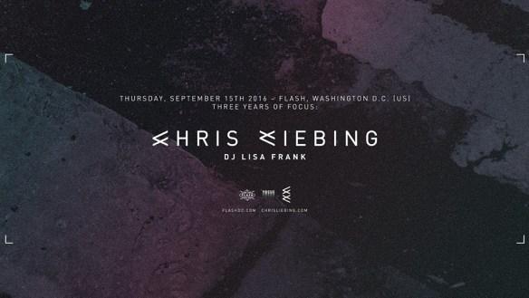 3 Years of Focus: Chris Liebing and DJ Lisa Frank at Flash