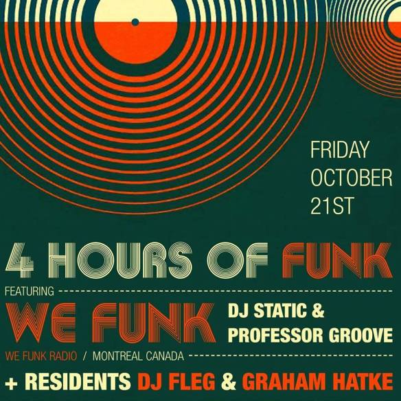 4 Hours of Funk Featuring WeFunk DJ's, Graham Hatke and Fleg at The Windup Space, Baltimore