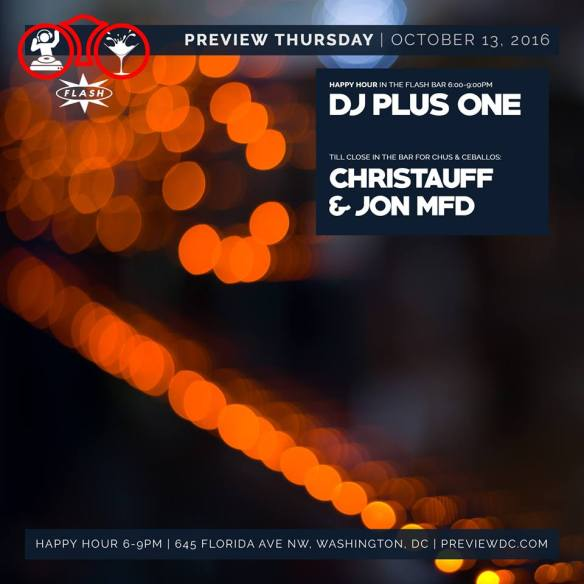 Preview Late Night with DJ Plus One at Flash
