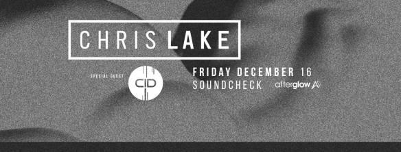 Chris Lake with CID at Soundcheck