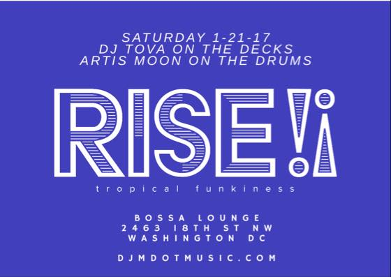Rise with Tova at Bossa Bistro and Lounge