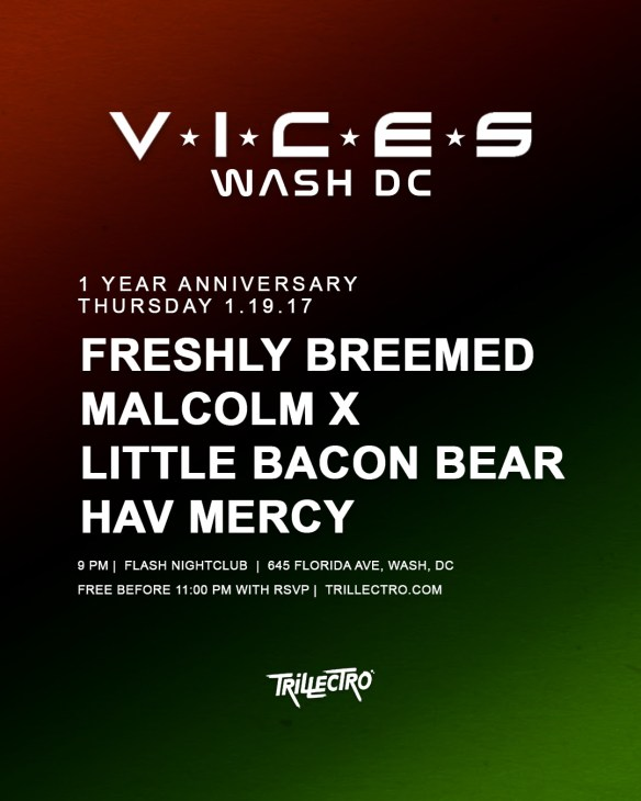VICES DC 1 Year Anniversary at Flash