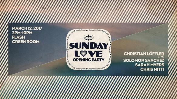 sunday love opening party