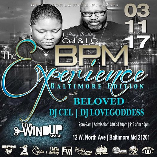 The BPM Experience, The Baltimore Edition at the Windup Space, Baltimore