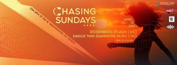 Chasing Sundays with Rosenberg and Darius Twin at Public Bar