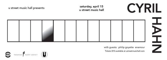 Cyril Hahn with Philip Goyette, Enamour at U Street Music Hall