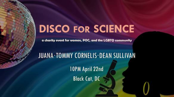 Disco for Science with Juana, Tommy Cornelis & Dean Sullivan at The Black Cat