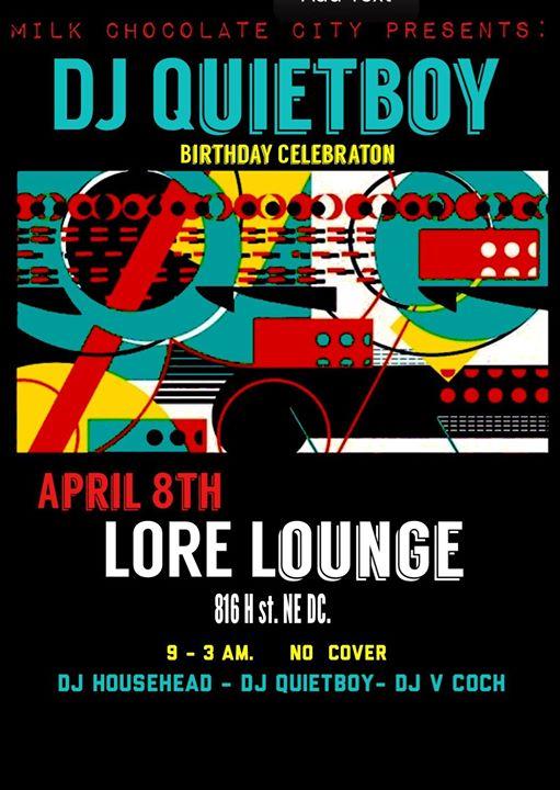 DJ Quietboy Bday Celebration with DJ Househead, DJ Quietboy & V-Coch at Mythology Restaurant & Lounge
