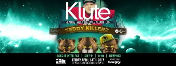 Klute & Teddy Killerz with Locks of Intellect, Slee-P, O-No & Rawphiki at Warehouse Location