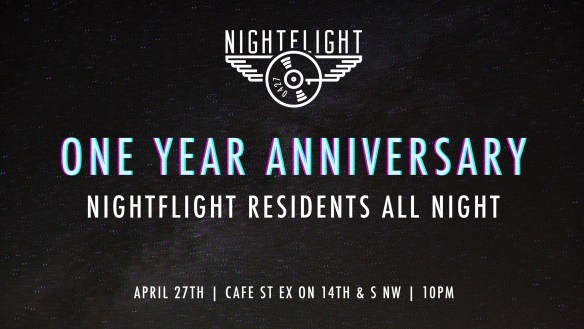 NightFlight 1 Year Anniversary Party with Omar, DJ Heather Femia, Zamkov and Wade Hammes at Cafe Saint Ex
